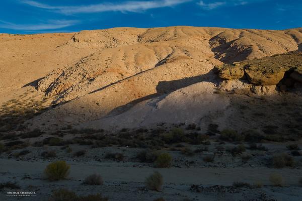Sunset in the Mojave Desert