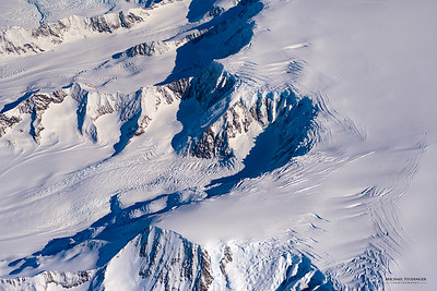 Glaciers on the Antarctic Peninsula