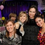 Woodson Poore and Melissa Gagliardi, Jenni Young, Pascale Cross and Fabi Lash.