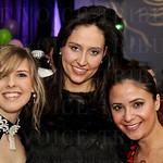 Jenni Young, Pascale Cross and Fabi Lash.