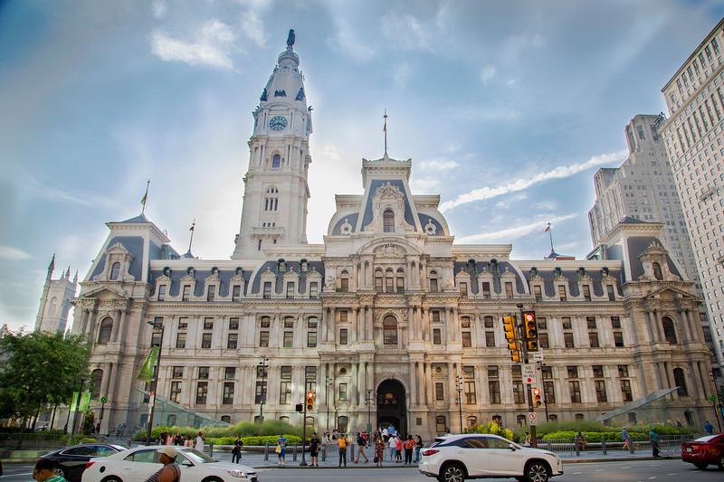City Hall - 15th Street Side