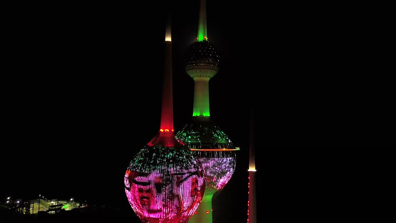 Kuwait Towers (Past & Present)