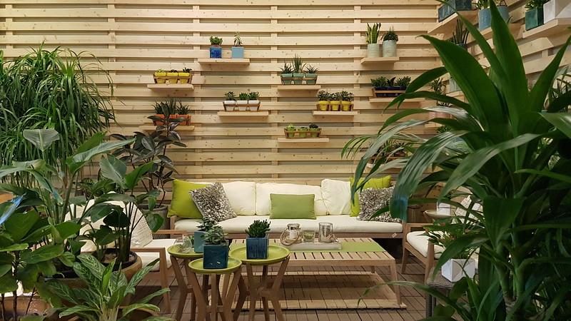 Indoor Garden - light Green scheme