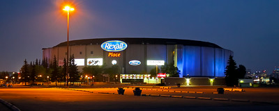 "2014 Rexall Place - ""Glow of the Northlands"""