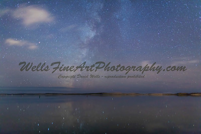 Milky Way over Morro Bay, California