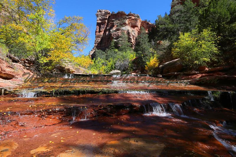 Upper Archangel Falls, Zion