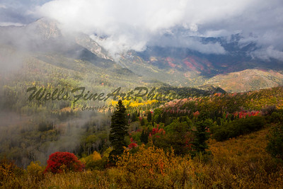 Mt. Timp. in the Clouds, Wasatch Range