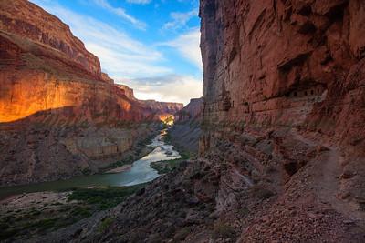 Trail to Nankoweep Granary, Grand Canyon