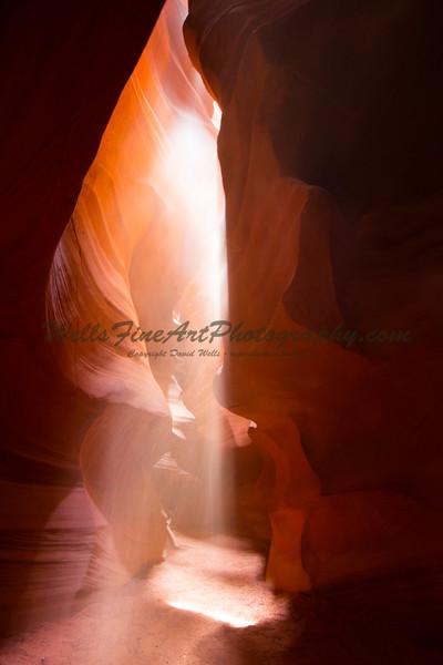 Tall Shaft of Light, Upper Antelope Canyon