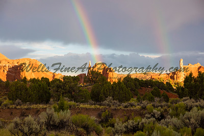 Double Rainbow, Kodachrome Basin