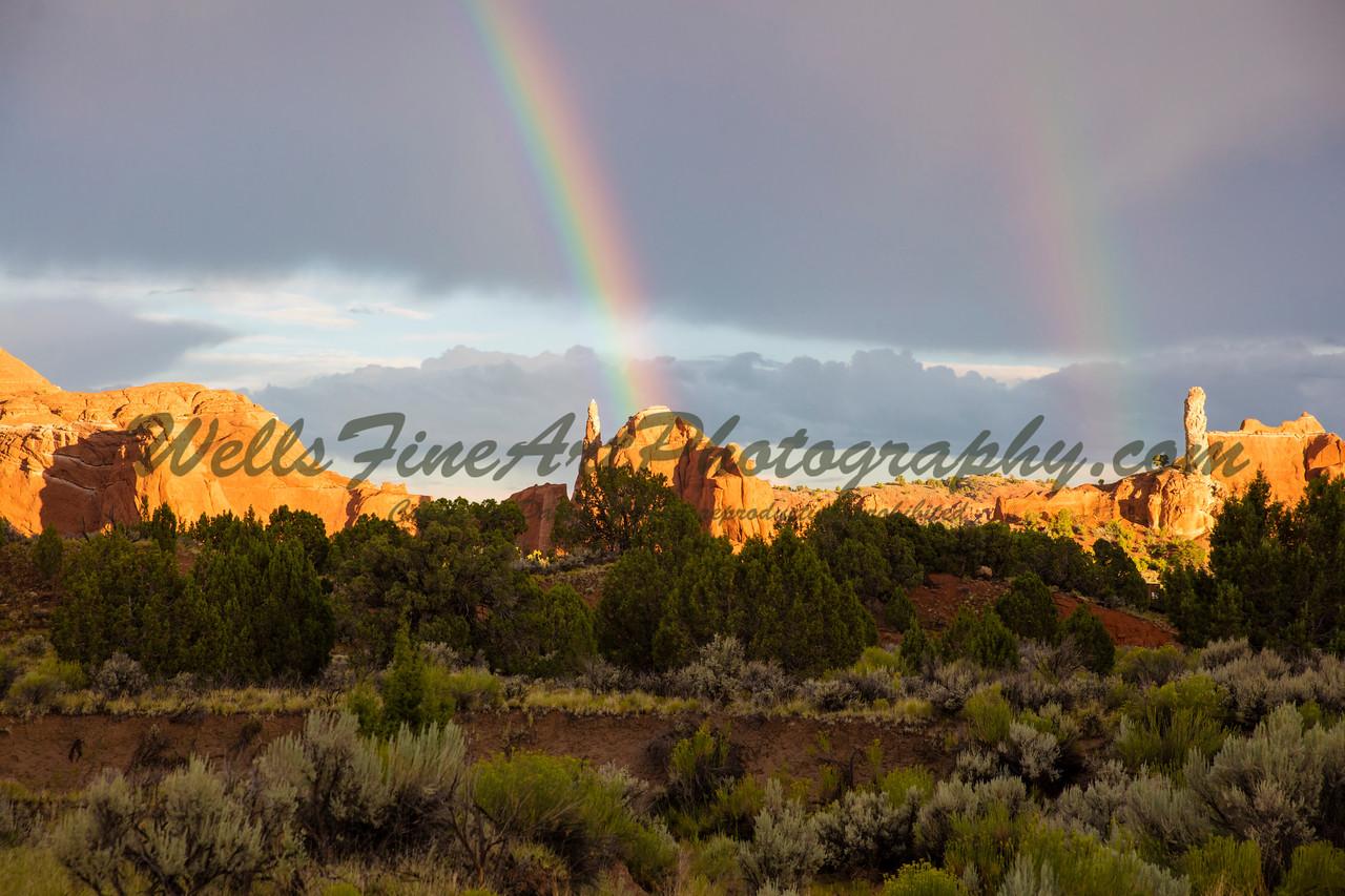 Double Rainbow, Kodachrome Basin