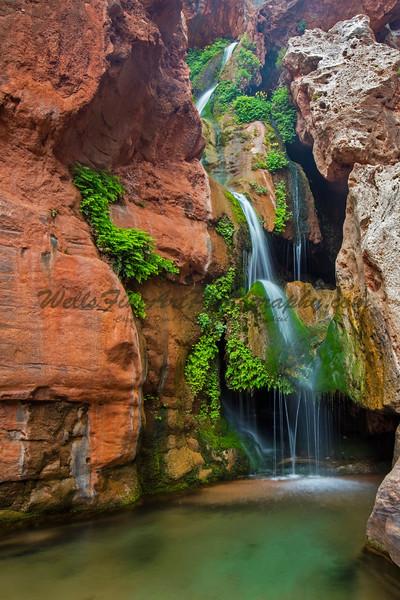 Elves Chasm vertical, Grand Canyon