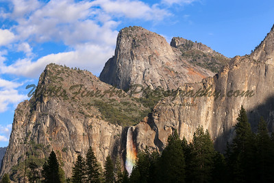 Bridalveil Rainbow, Yosemite
