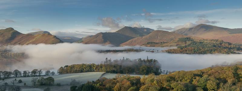 Panoramic-Inversion-Derwent-Water