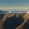 Aerial Panoramic Photograph of Blencathra and Skiddaw