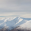 Blencathra Summit - Winter Panoramic