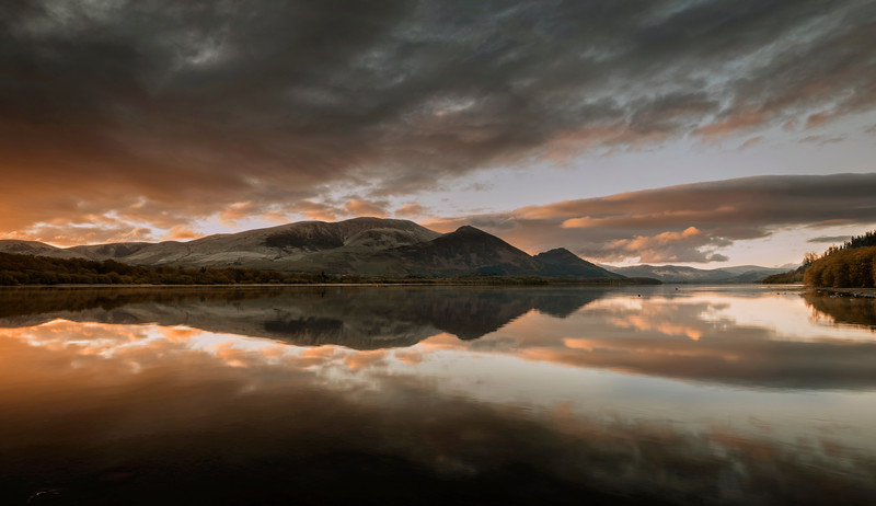 Bassenthwaite Lake Sunrise Photograph