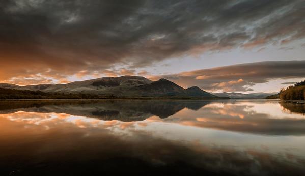 Bassenthwaite Lake Sunrise Photograph