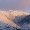 Snow Capped Blencathra Mountain