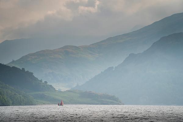 Sailing Boat Ullswater