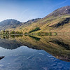Buttermere Panoramic Reflection