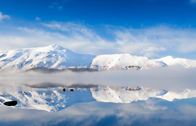 Winter Reflection - Derwent Water