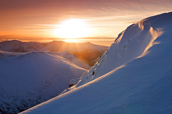 Causey Pike Sunset