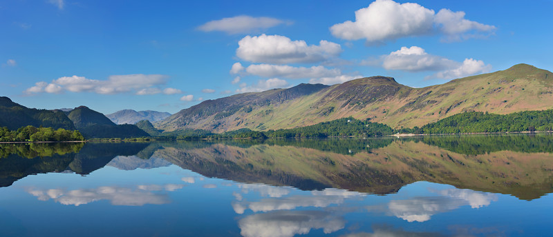 The Jaws of Borrowdale - Summer reflection