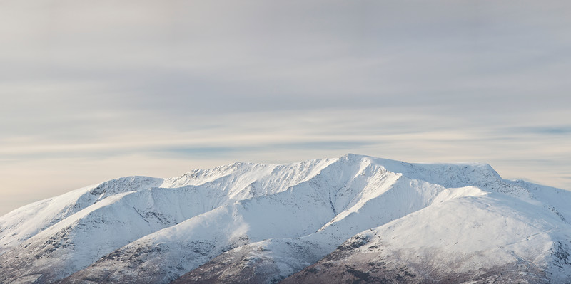 Blencathra Winter Photograph