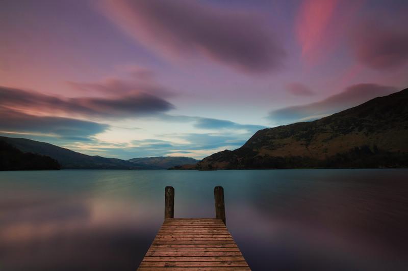 Ullswater Sunset Photograph