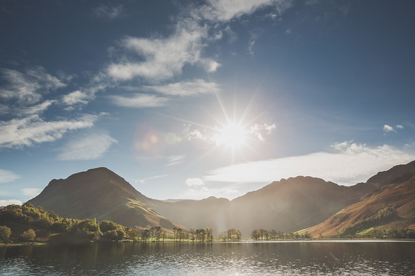 First Light on Buttermere