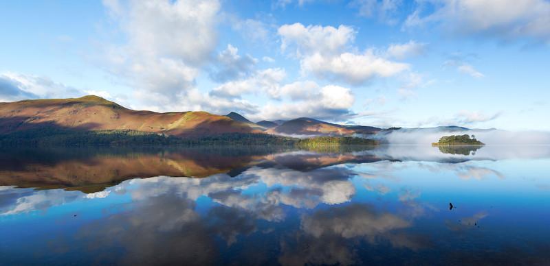 Derwent Water Panoramic Photograph