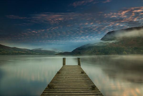 Ullswater Jetty Sunrise