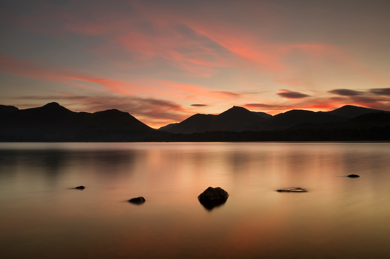 Derwent Water Sunset - Keswick