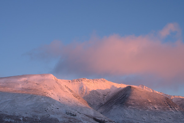 Blencathra Sunrise Photograph