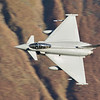 RAF Typhoon in the Lake District