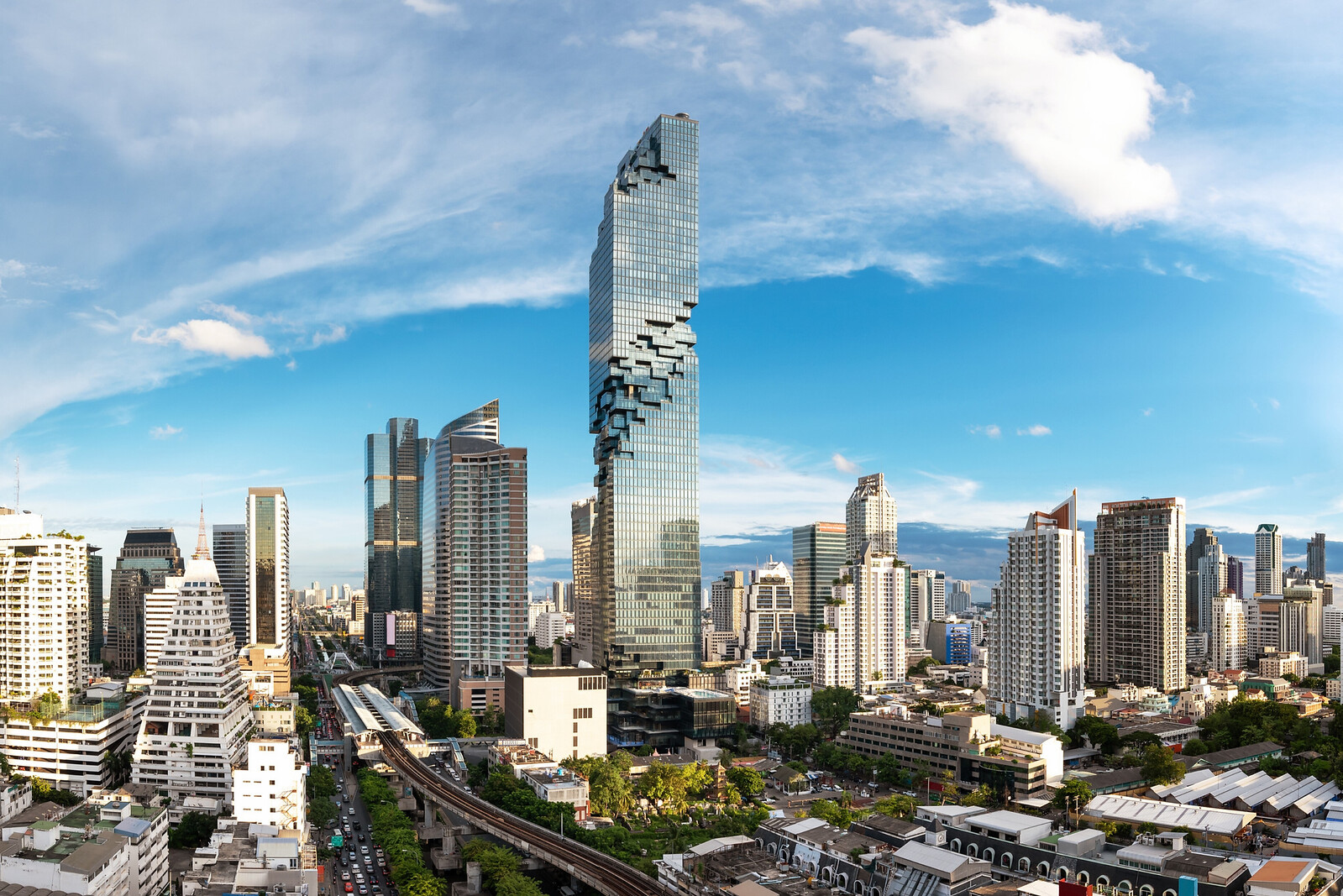 Mahanakhon Sky Walking in Bangkok