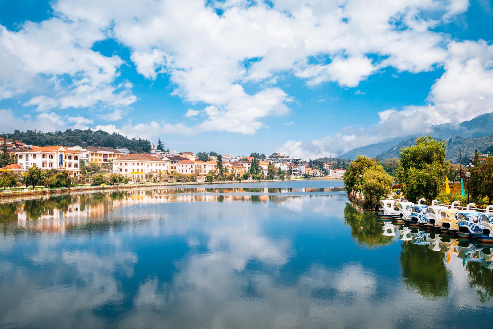 Lake in Sapa town