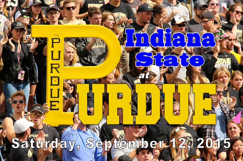 Indiana State University Sycamores at Purdue University Boilermakers - Saturday, September 12, 2015