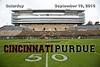 University of Cincinnati Bearcats at Purdue University Boilermakers - Military Appreciation Day - Saturday, September 10, 2016