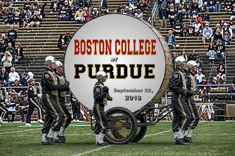 Boston College Eagles at Purdue University Boilermakers - Saturday, September 22, 2018