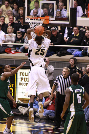 Purdue vs. Michigan State Feb 17, 2009