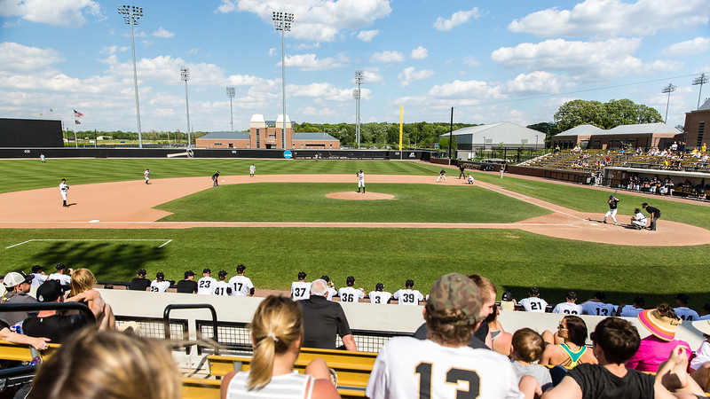 Purdue Baseball vs U Michigan Game 3