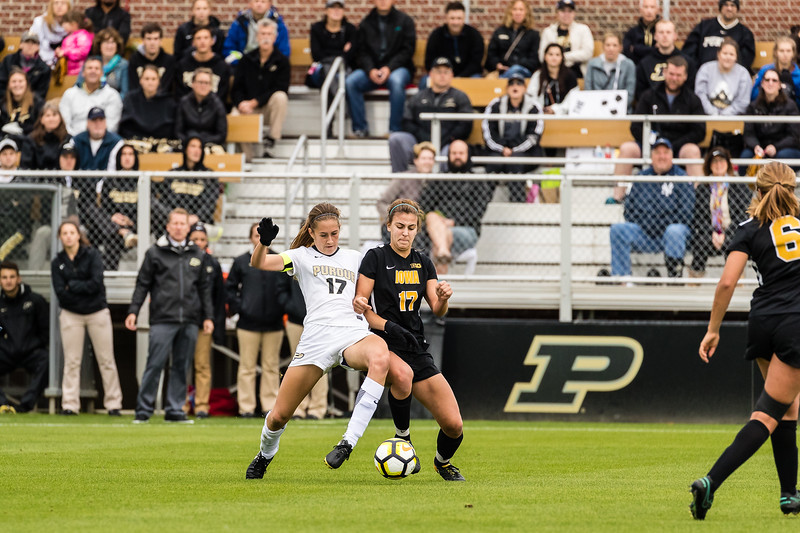 Purdue Soccer vs Iowa Hawkeyes