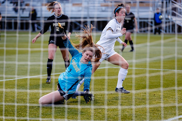 Purdue Soccer vs Notre Dame