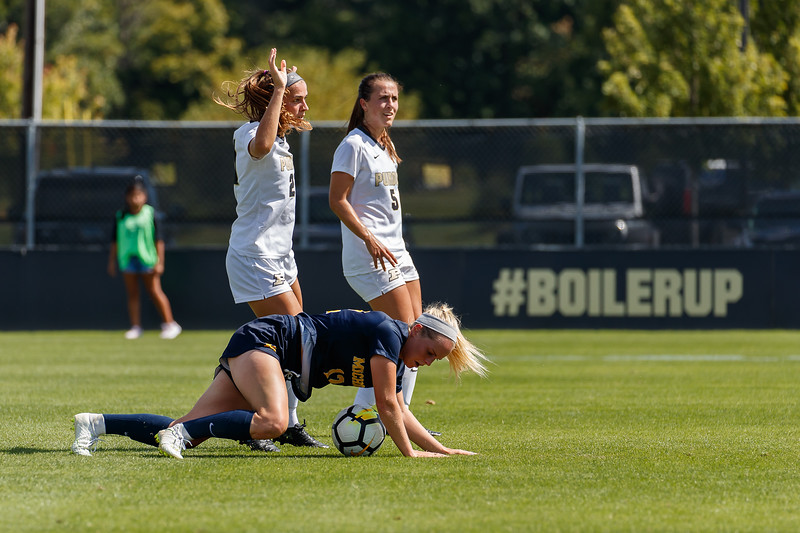 Purdue Soccer vs U Michigan