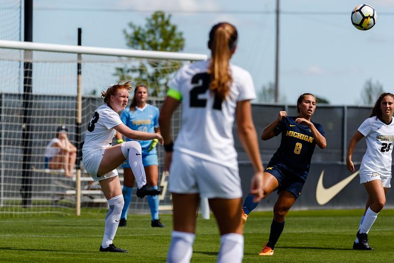 Purdue Soccer vs U Michigan