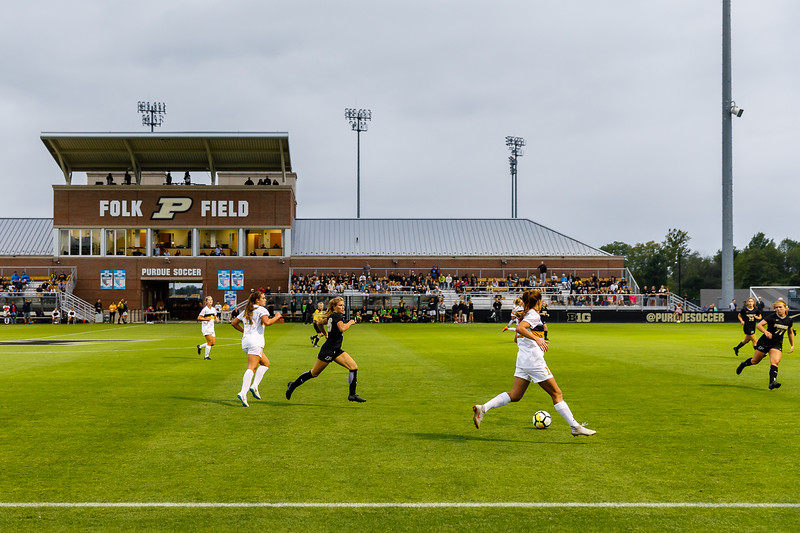 Purdue Soccer vs West Virginia