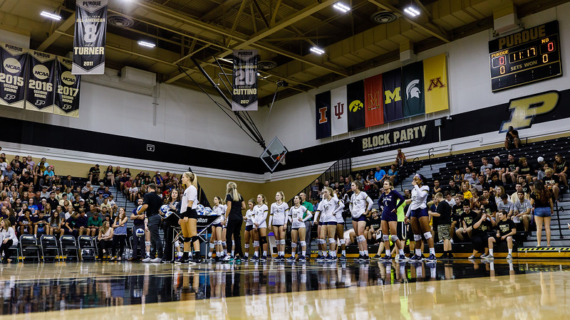Purdue Volleyball vs Notre Dame