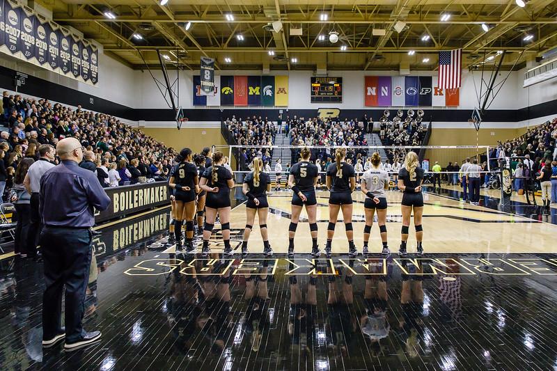 Purdue Volleyball vs Michigan State